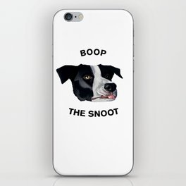 Boop The Snoot iPhone Skin