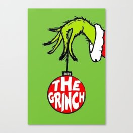 The Grinch Canvas Print