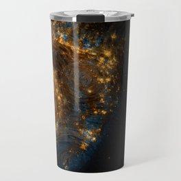 Starry Galaxy Night Travel Mug