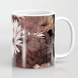 gerbera daisy on texture background Coffee Mug