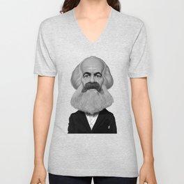 Karl Marx Unisex V-Neck