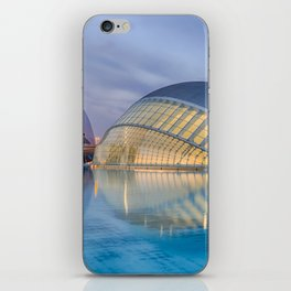C A L A T R A V A   architect   City of Arts and Sciences III iPhone Skin