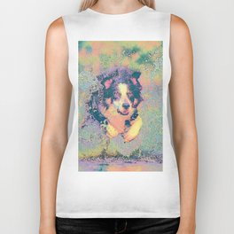 Pastel_Dog_001_by_JAMColors Biker Tank