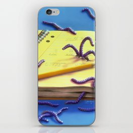 Go Eat Worms iPhone Skin