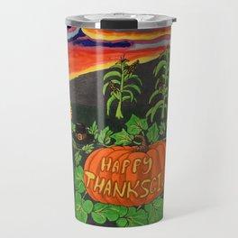 Happy Thanksgiving 2017 Travel Mug