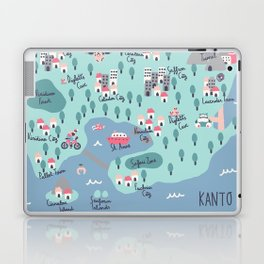 Kanto Map Laptop & iPad Skin
