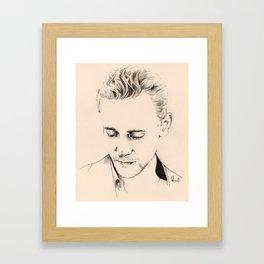 Minimal Tom Framed Art Print