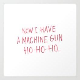 Ho-Ho-Ho Art Print