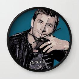 Chris Hemsworth 2 Wall Clock