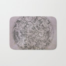 Vintage Constellations & Astrological Signs | Beetroot Paper Bath Mat