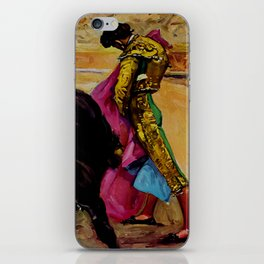 Fiesta de Toros in Spain Travel iPhone Skin