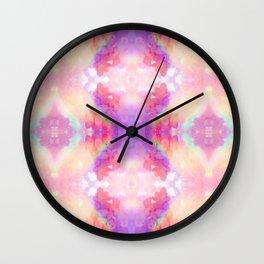 rAiNbOw Crystal * Star Quartz * Mandala Wall Clock