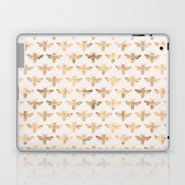 Honey Bees (Sand) Laptop & iPad Skin