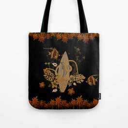 Hawaiian, tropical design Tote Bag
