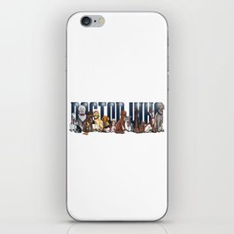 Doctor Who FanArt Dogs iPhone Skin