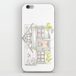 Green Craftsman iPhone Skin