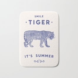 Smile Tiger, it's Summer Bath Mat