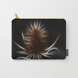 Abstract teazle Carry-All Pouch