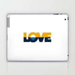 LOVE - People's Flag of Milwaukee Laptop & iPad Skin