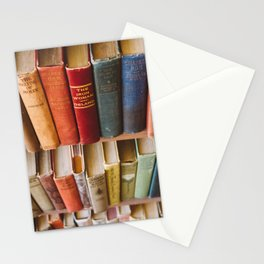 The Colorful Library Stationery Cards
