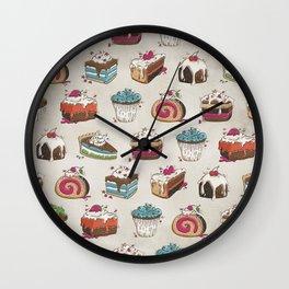 Happy Baker Wall Clock