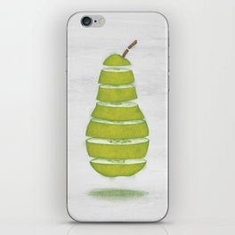 A Pear Apart iPhone Skin