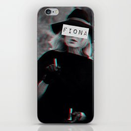 Fiona Goode & the Cig iPhone Skin