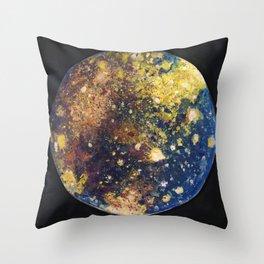 Callisto Moon of Jupiter Throw Pillow