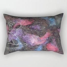 "Arctic Monkeys Inspired Illustration - ""She's made of outer space"" Rectangular Pillow"
