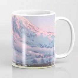 Mount Rainier Washington State Coffee Mug