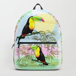 Toucan Wild Bird from Amazon Rainforest Backpack