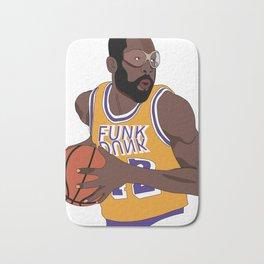 Los Angeles Basketball Legend Bath Mat