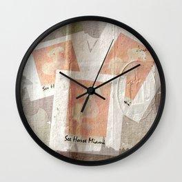 See Horse Miami Wall Clock