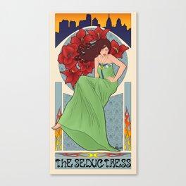 The Seductress Canvas Print