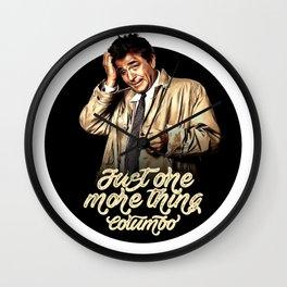 Columbo - TV Shows Wall Clock