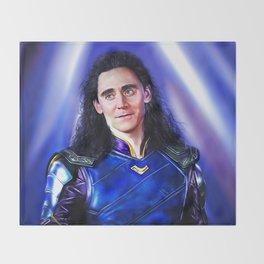 Loki - Ragnarok V Throw Blanket