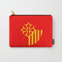 Languedoc Roussillon france country region flag Carry-All Pouch
