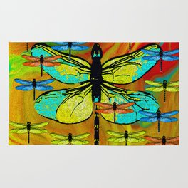 DRAGONFLY FORMATION Rug