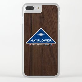 CLOSE ENCOUNTERS OF THE THIRD KIND - Mayflower Project Clear iPhone Case
