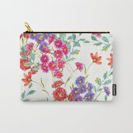 fresh floral spring scatter Carry-All Pouch