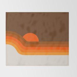 Golden Dipper Throw Blanket