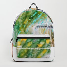 Fount of Blessings Backpack