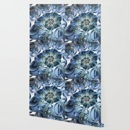 Dynamic Spiral, Abstract Fractal Art Wallpaper