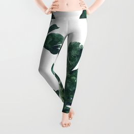 Banana Leaf Watercolor #society6 #buy #decor Leggings