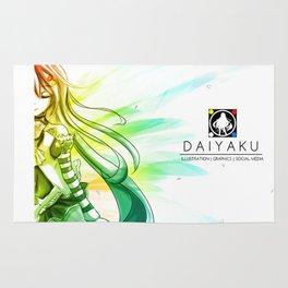 Daiya Aoi - Gradience Rug