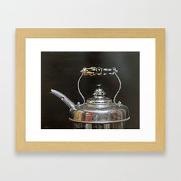 Teakettle Framed Art Print
