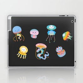 Pastel Jellyfish Laptop & iPad Skin