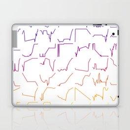 Fish tracks Laptop & iPad Skin
