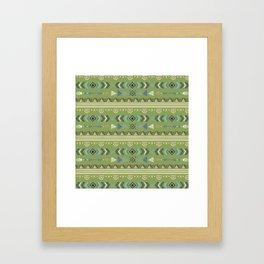 Boho/Ethnic Pattern Framed Art Print