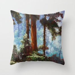 The Forrest Through the Trees Throw Pillow